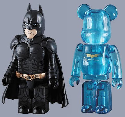 The Dark Knight x Medicom - 100% Batman Kubrick and 100% The Dark Knight Logo Be@rbrick Set