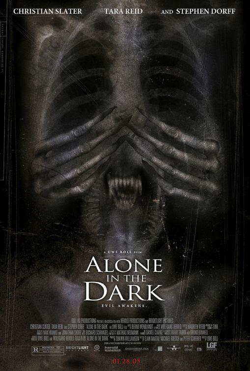 Risultati immagini per alone in the dark poster