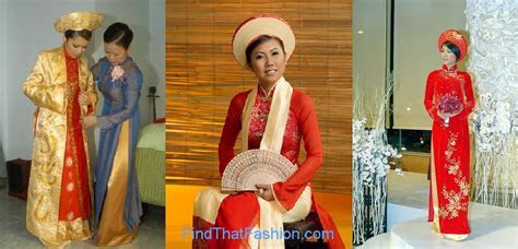 Wedding Ao Dai Vietnamese Dress