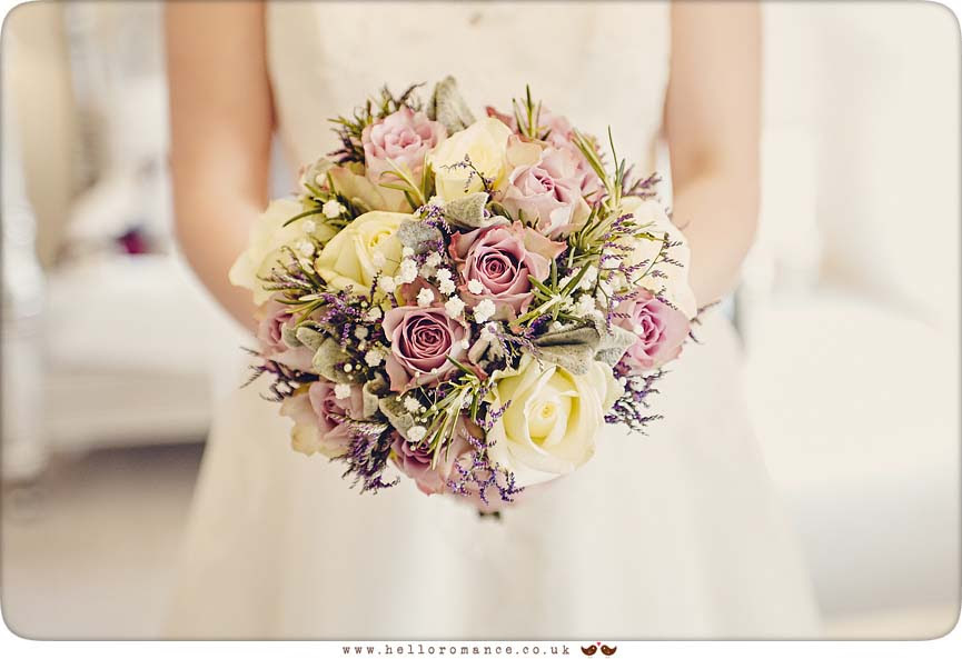 Bride's bouquet - www.helloromance.co.uk