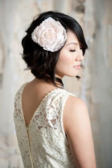acconciature sposa capelli caschetto - Acconciature sposa con capelli corti le idee più belle da cui prendere