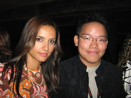 me and Leonor Varela