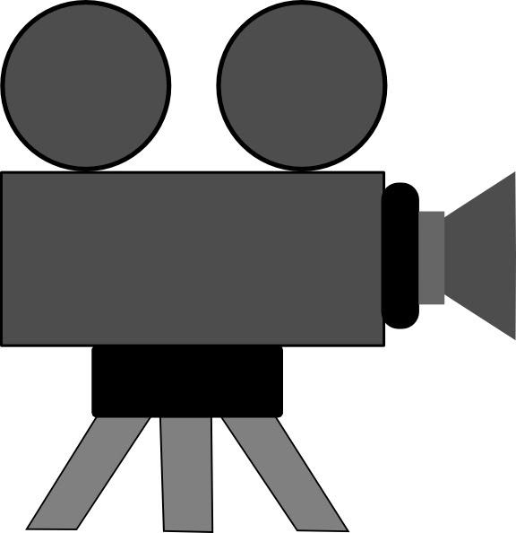 Movie Camera clip art