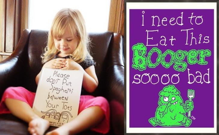 Pai Desenha Pôsteres A Partir Das Frases Engraçadas Que Sua Filha De