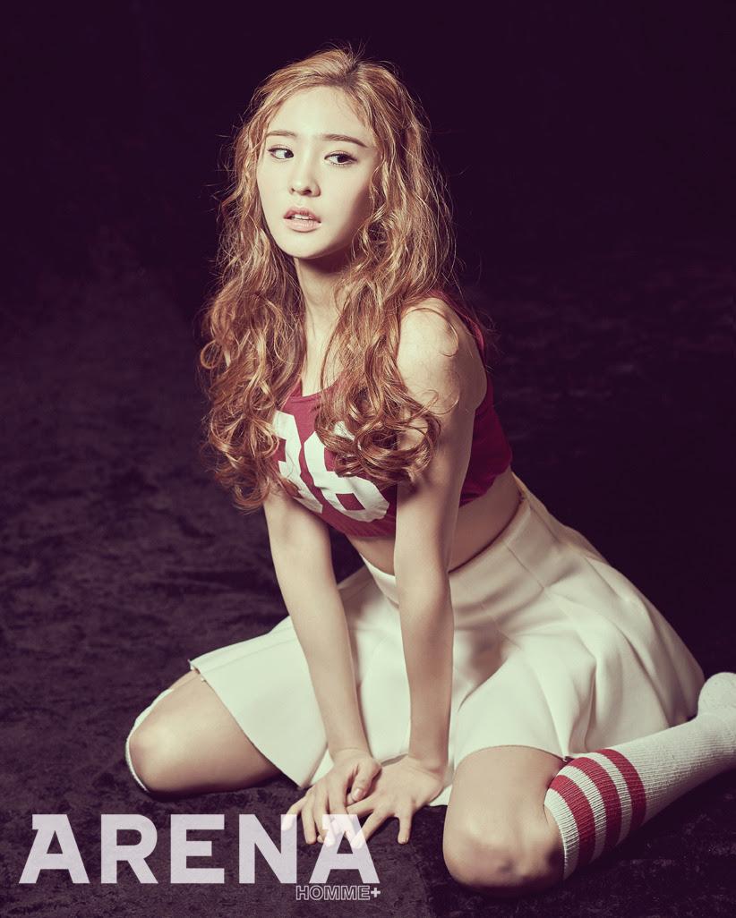 SONAMOO Na Hyun - Arena Homme Plus Magazine March Issue '15