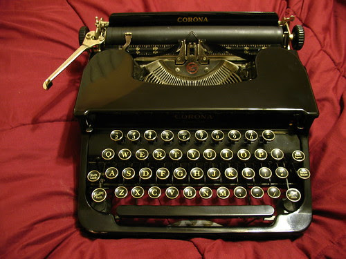 Corona Standard typewriter, c.1939