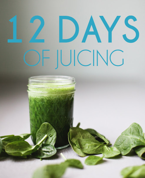 12 Days of Juicing // www.inthelittleredhouse.blogspot.com