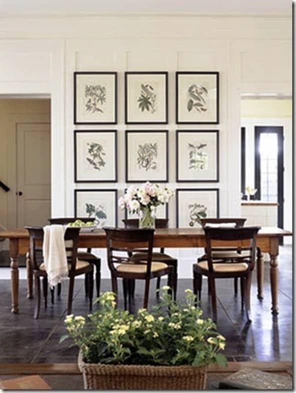 Dining Room Wall Decor – Part III