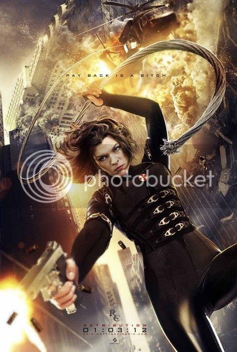 Resident Evil Retribution - Poster 0014
