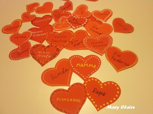 Maryclaire perle cose san valentino decorazione da parete - Decorazione san valentino ...