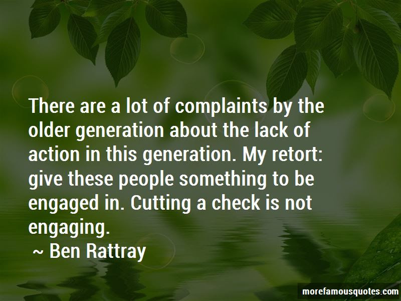 Ben Rattray Quotes Top 5 Famous Quotes By Ben Rattray