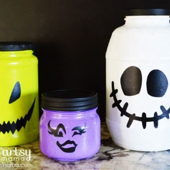 Kids Fun Halloween Jars