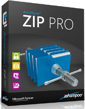 Ashampoo ZIP Pro 1.0.7 Final with Crack, Serial Key Free Download