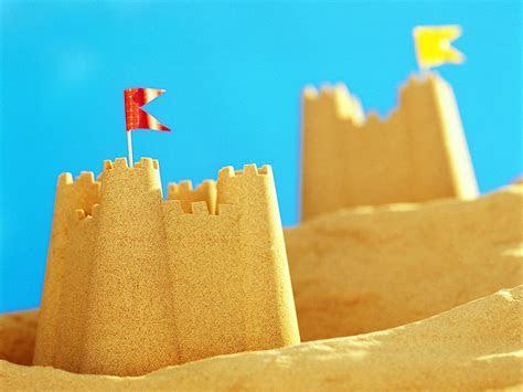 sand castle wallpaper wallpapersafari