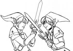 Get Inspired For Link Coloring Pages
