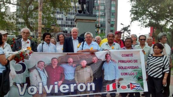 LOS 5 PERU ENERO 2014