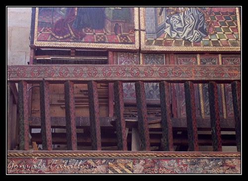 Órgano de la Capilla de Ayala - Catedral Vieja de Salamanca - Detalle de las reducciones