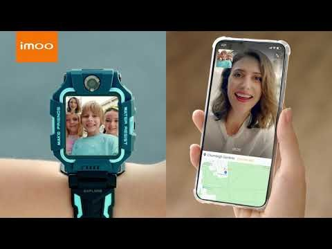 A smartwatch for kids with dual camera: imoo Watch Phone Z6