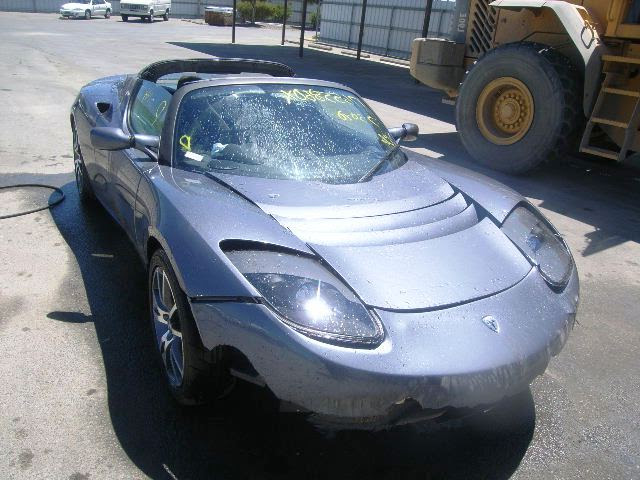 Damaged Wrecked Salvage Tesla For Sale