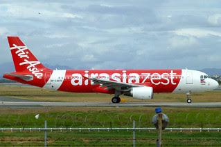AirAsia Zest Airbus A320-216 [RP-C8970]