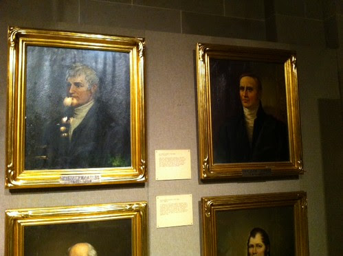 Ex-Govs. Lewis & Clark Portraits @ Missouri Capitol