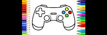 Gaming Controller Drawing