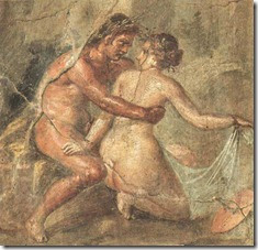Wall Painting, House of the Epigrams, Reign of Nero (Pompeii)