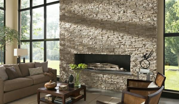 fari 39 nin d nyas natursteinwand im wohnzimmer. Black Bedroom Furniture Sets. Home Design Ideas