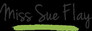 MSF Miss Sue Flay logo Green Brush