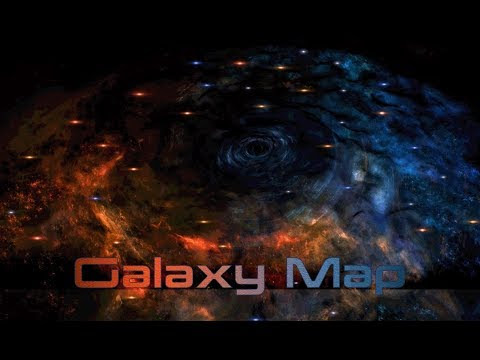Mass Effect Andromeda Galaxy Map Theme 2 Hours Of