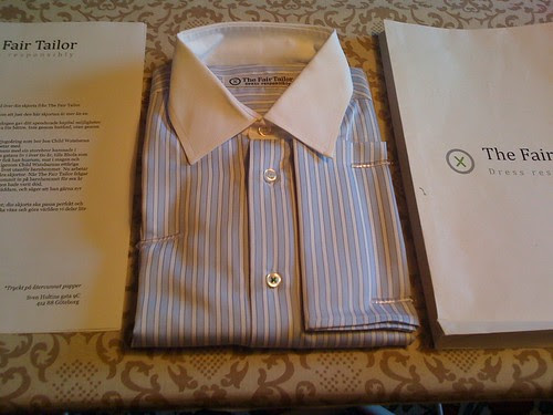 Tailor-made Shirt by The Fair Tailor