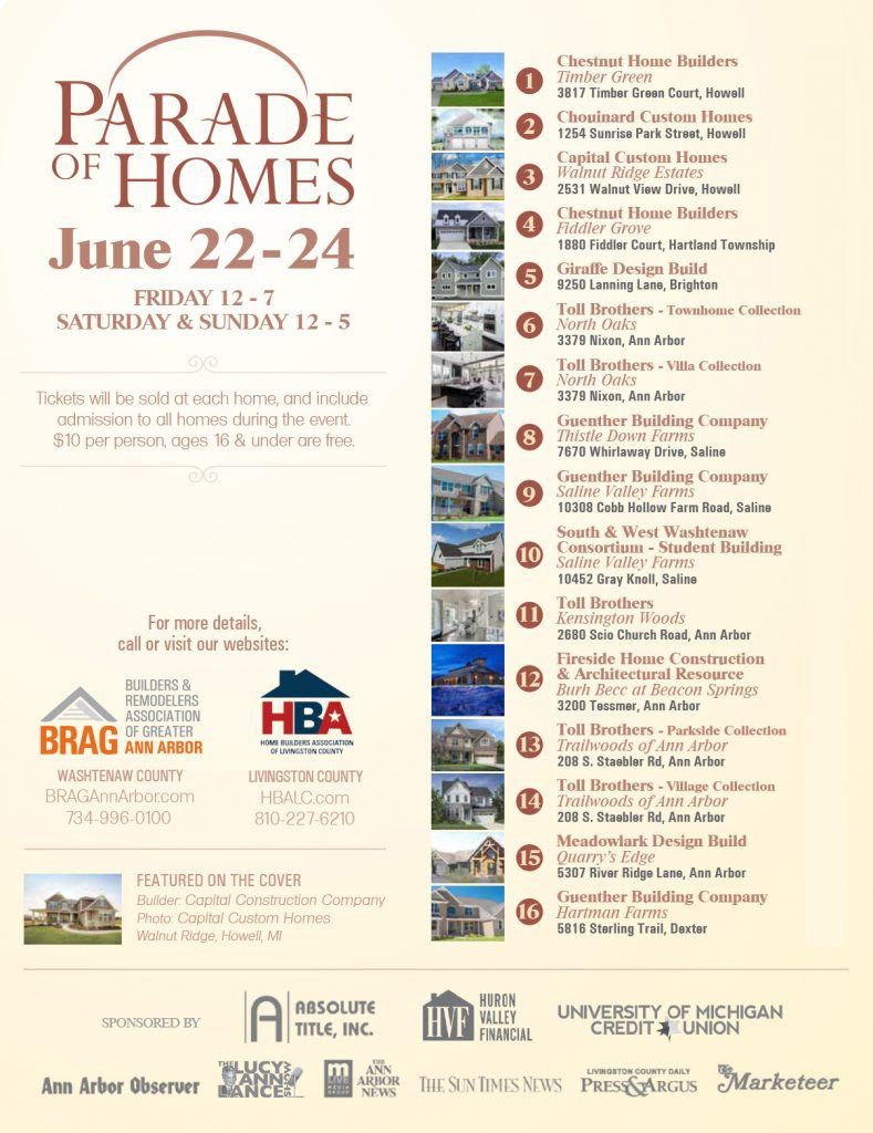 Parade Of Homes The Builders And Remodelers Association Of Greater
