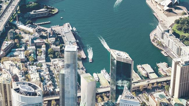 Dalian Wanda is hoping to complete its $1bn twin tower project at Circular Quay in 2021.