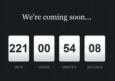 Beautiful jQuery Countdown Timer Plugin | Free jQuery Plugins