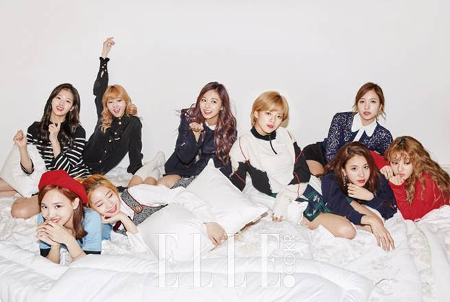 Twice - Elle Magazine December Issue '16