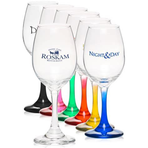 Personalized 10 oz. Rioja Wine Glasses   5414AL   DiscountMugs