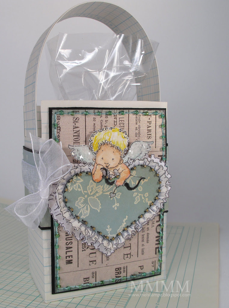 Mo's digital pencil Valentine's treat bag mel stampz