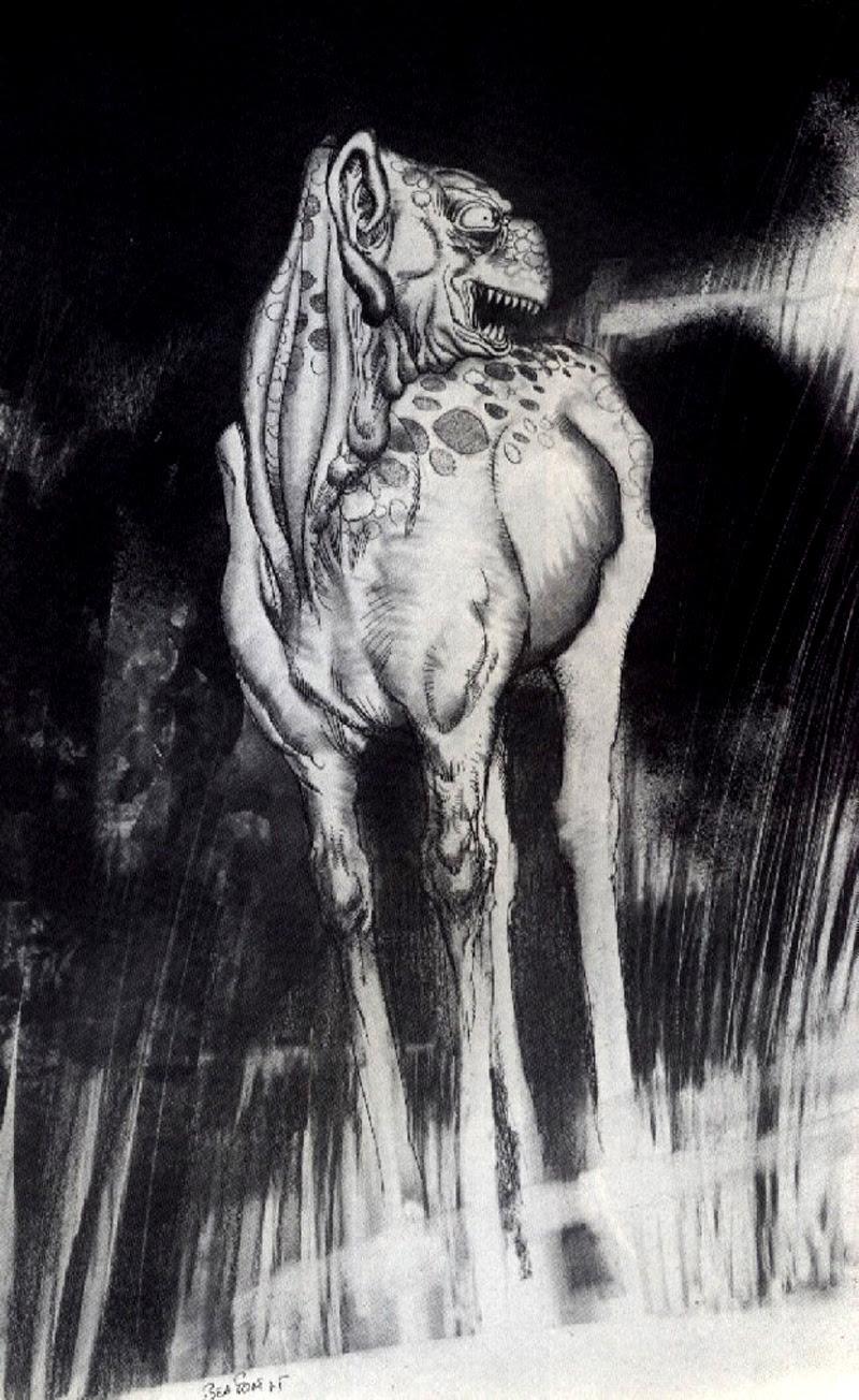 Josep M. Beá - Lovecraft Monster Gallery - 17