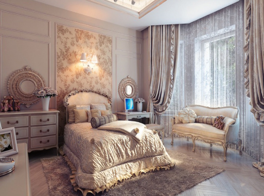 Bedroom - a place for relaxation and inspiration ...