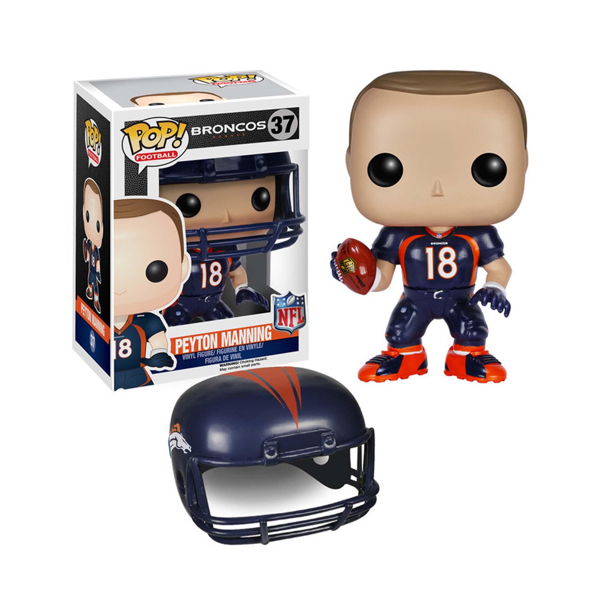 Funko NFL POP 7563 Wave 2 Denver Broncos Peyton Manning  Toys  Games  Action Figures