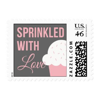 Cute Baby Shower | Sprinkled With Love Postage Stamp