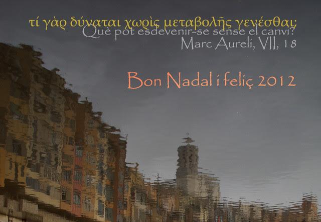 Bon Nadal i feliç 2011 / Feliz Navidad y próspero 2012 / Merry Christmas and happy 2012