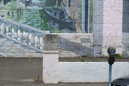 italian scene on Wellington wall