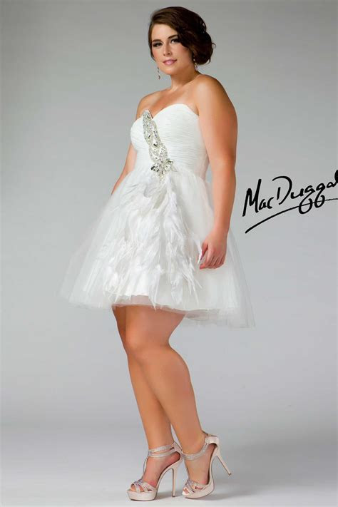 Graduation Dresses Plus Size White And Review Clothing