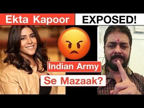 Hindustani Bhau Vs Ekta Kapoor Reaction