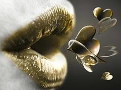 blowing kiss