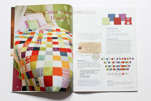 Quilt-it... Today - Color Your World by Jeni Baker