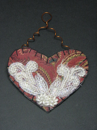 fabric heart001