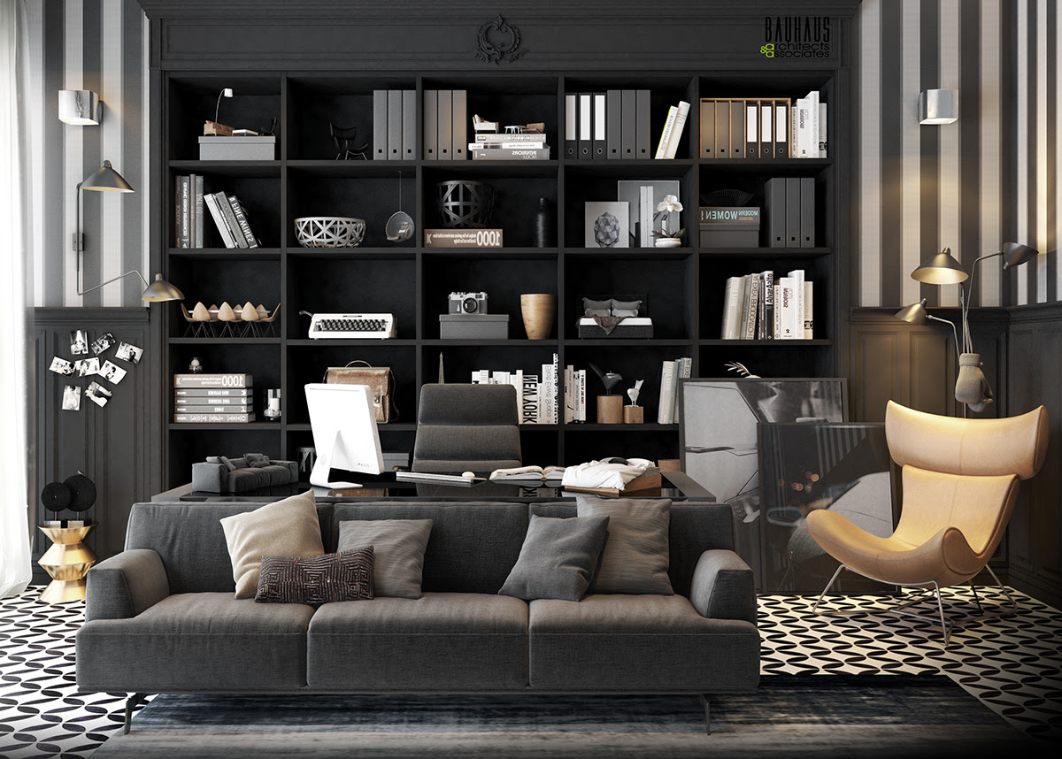 11 Modern Home Office Design Ideas For Inspiration