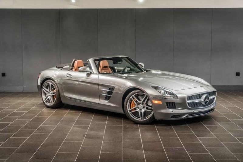2012 Mercedes-Benz SLS AMG Roadster | German Cars For Sale ...